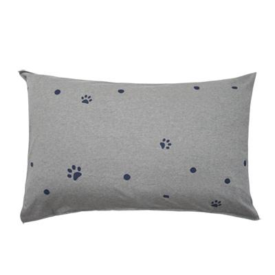 Yvonne Collection搗蛋狗床組枕套(直腳)-寶藍