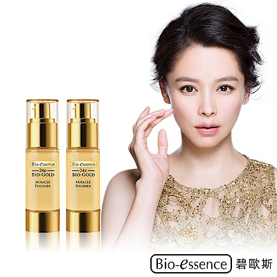 Bio-essence碧歐斯 24K生物黃金美顏凝乳 30ml(買1送1)