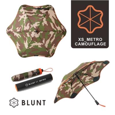 紐西蘭BLUNT保蘭特 抗強風 防反傘 抗UV 折傘(迷彩圖騰橘色)