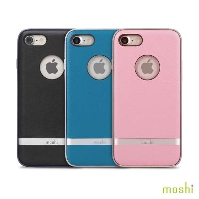 Moshi Napa iPhone 7/8 皮革雙料保護背殼