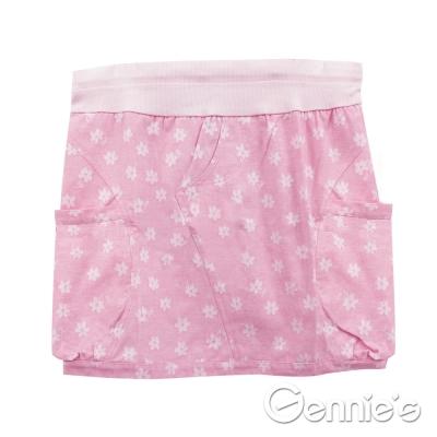 Gennie's奇妮-時尚百搭春夏孕婦短裙 (G4763)-粉紅花