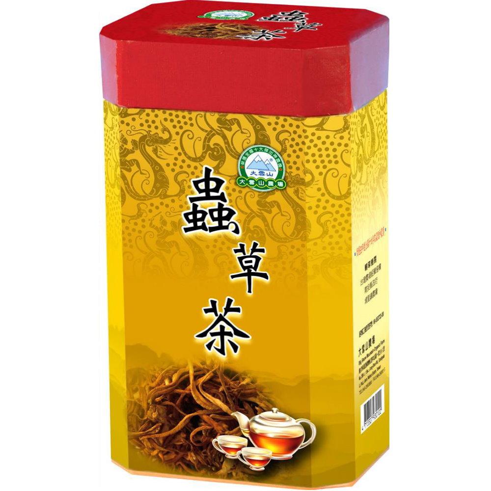 大雪山農場 蟲草茶(30包x3瓶)