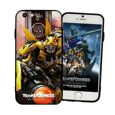 正版授權 變形金剛5 iPhone 6/6S 4.7吋 雙料浮雕保護殼(大黃蜂-...
