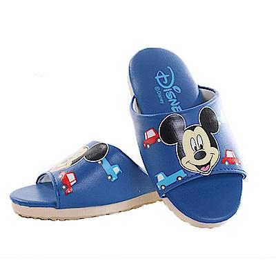 迪士尼米奇室內拖鞋 藍 sk0257 魔法Baby