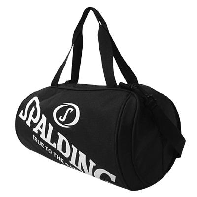 SPALDING 二顆裝休閒兩用袋  黑色