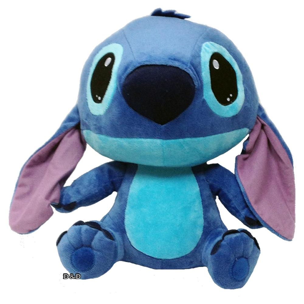 Disney授權絨毛玩具 坐姿Q版史迪奇