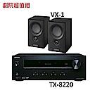 英國 Mission VX-1 書架型喇叭+ONKYO TX-8220兩聲道收音擴大機