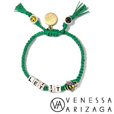 Venessa Arizaga LET IT BEE 綠色手鍊