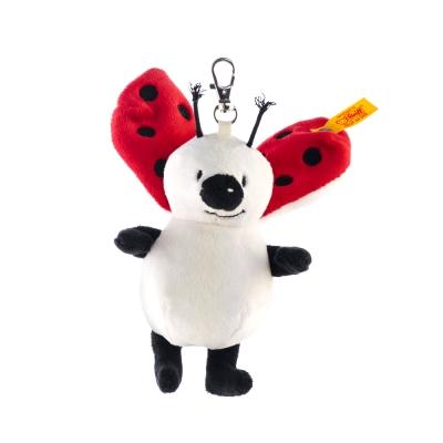 STEIFF德國金耳釦泰迪熊 -  Keyring Ladybug (經典吊飾)