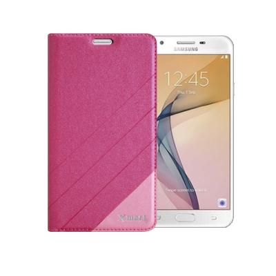 XM Samsung Galaxy J7 Pro 完美拼色磁扣皮套