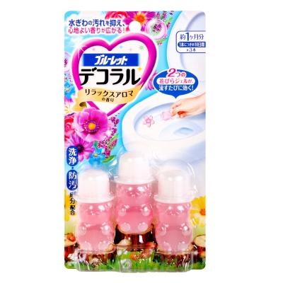 小林製藥 馬桶用消臭凝膠-舒緩花香(7.5g×3入)