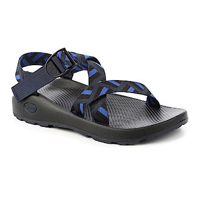 美國Chaco。男 越野運動涼鞋-標準款CH-ZCM01HE10 (潛隱深藍)