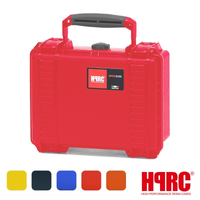 義大利 HPRC 2100C 頂級防撞硬殼箱-內泡棉式(公司貨)-紅色