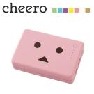 日本cheero花阿愣10050mAh雙輸出行動電源(2A快充)-櫻花/粉紅