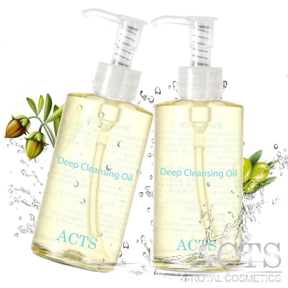 ACTS 維詩彩妝 植萃深層卸妝潔顏油買一送一