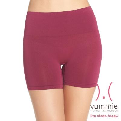 塑褲-塑腰平腹彈性四角褲-魔法紫-Nina-Yummie-Life
