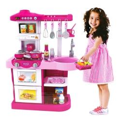 家家酒系列玩具 豪華聲光廚具台