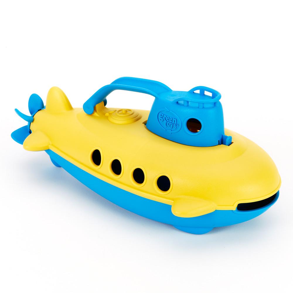 美國【greentoys】藍鯨號潛水艇