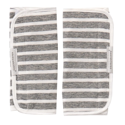 奇哥  多功能揹巾口水巾-灰條紋
