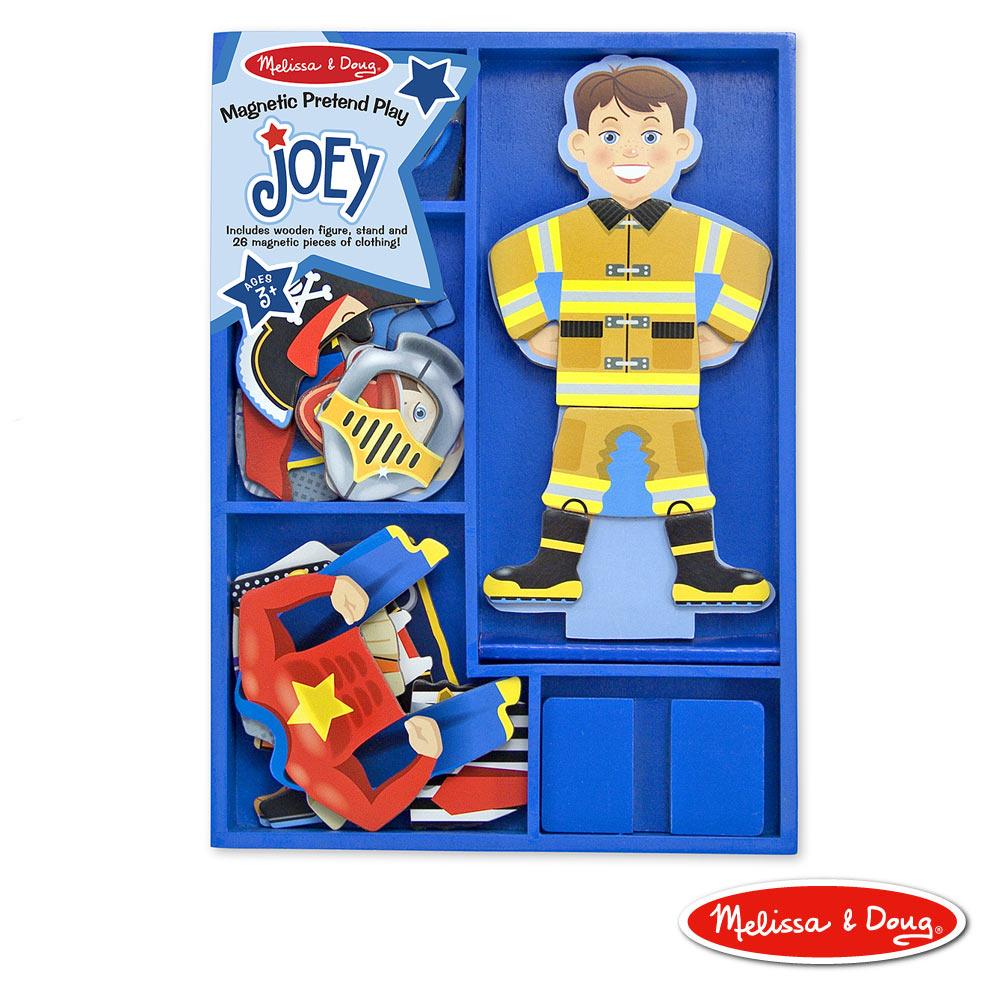 美國瑪莉莎 Melissa & Doug 磁力換裝娃娃 - 變身喬伊