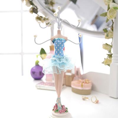 Aimee-Toff-陽光水藍芭蕾舞者飾品架