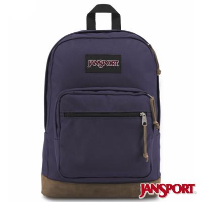 JanSport -RIGHT PACK系列後背包 -暗紫