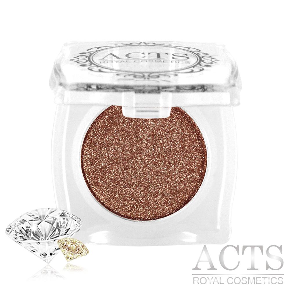 ACTS維詩彩妝 魔幻鑽石光眼影 茶棕金鑽D612