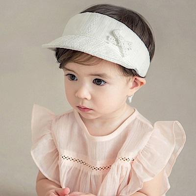 韓國 Happy Prince 鏤空蕾絲雕花鴨舌遮陽帽