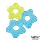 英國 Brother Max 冰涼星星固齒器 3 入組 - 藍