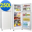 福利品 SAMPO聲寶 4級定頻2門電冰箱 SR-L25G(W2) 典雅白