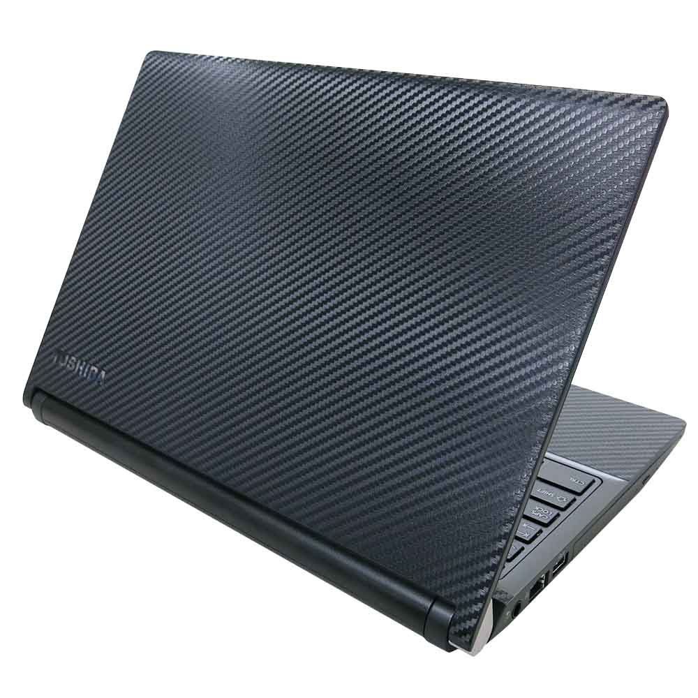 EZstick TOSHIBA Portege R30-C 黑色立體紋機身保護膜