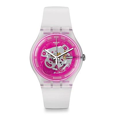 Swatch The Swatch Vibe PINKMAZING 迷幻亮粉手錶