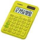 CASIO 10位元甜美馬卡龍迷你型計算機(MS-7UC-YG)-芥末黃