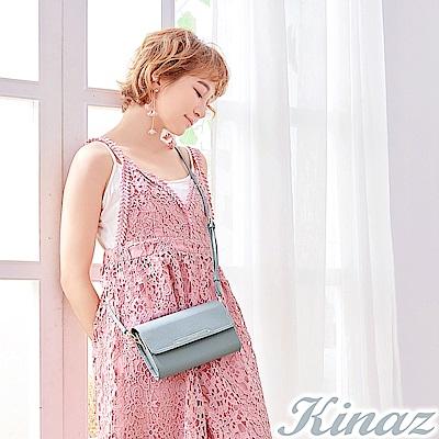 KINAZ 夢幻糖衣兩用斜背包-晴空藍-城市輕旅系列-快
