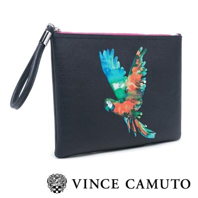 VINCE CAMUTO 夏日沁涼 水果系列撞色手拿包-黑色