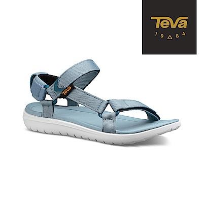 TEVA 美國 女 Sanborn Universal 輕量運動涼鞋 灰藍