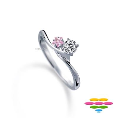 彩糖鑽工坊 19分鑽石 求婚鑽戒 星願系列
