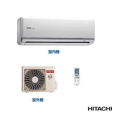 HITACHI 日立 3-4坪 冷暖型變頻分離式冷氣 RAS-22NK/RAC-22NK