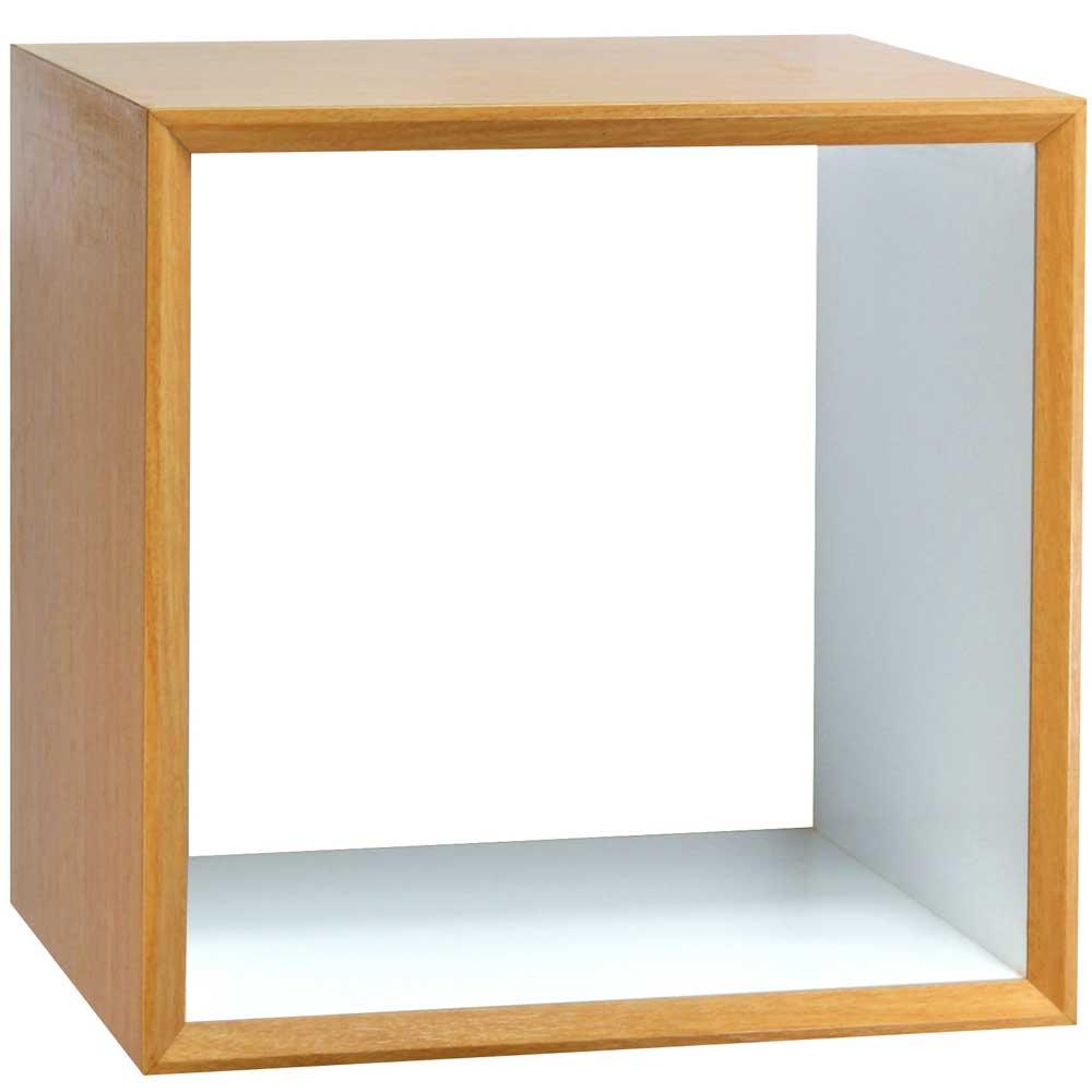 魔術方塊30系統收納櫃/鏤空櫃-原木色
