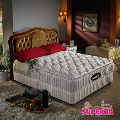 瑞士SUPERBA-Birs三線獨立筒床墊-雙人加大6尺