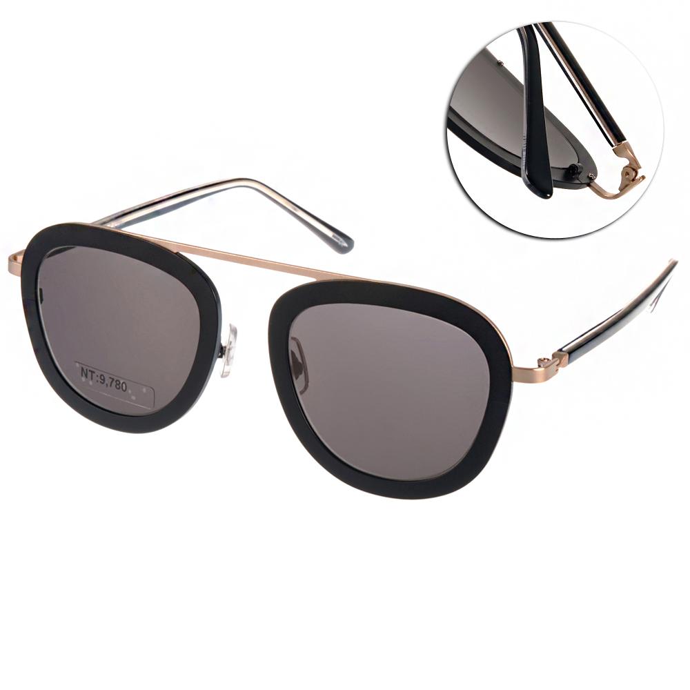 STEALER太陽眼鏡 個性飛官款/黑-金#SLKARMA C08