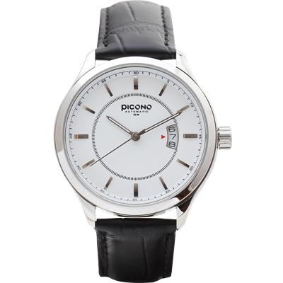 PICONO 尊爵系列簡約時尚腕錶-白/48mm