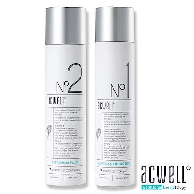 ACWELL艾珂薇 深層極緻保濕舒緩爽膚水150ml+深層極緻保濕舒緩乳液130ml