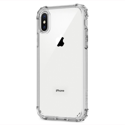 Spigen iPhone X Crystal Shell美國軍規認證雙料防震殼