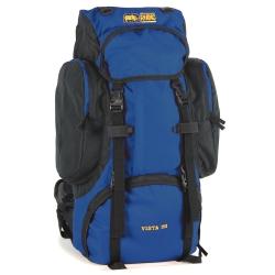 犀牛Vista 超輕透氣網架背包(51公升)-藍