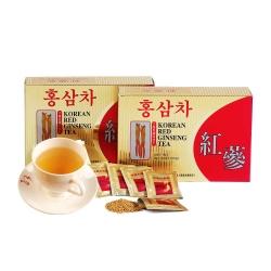 金蔘-6年根韓國高麗紅蔘茶(100包/盒 共1盒)