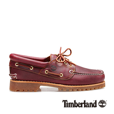 Timberland 經典雷根鞋 男款 酒紅色