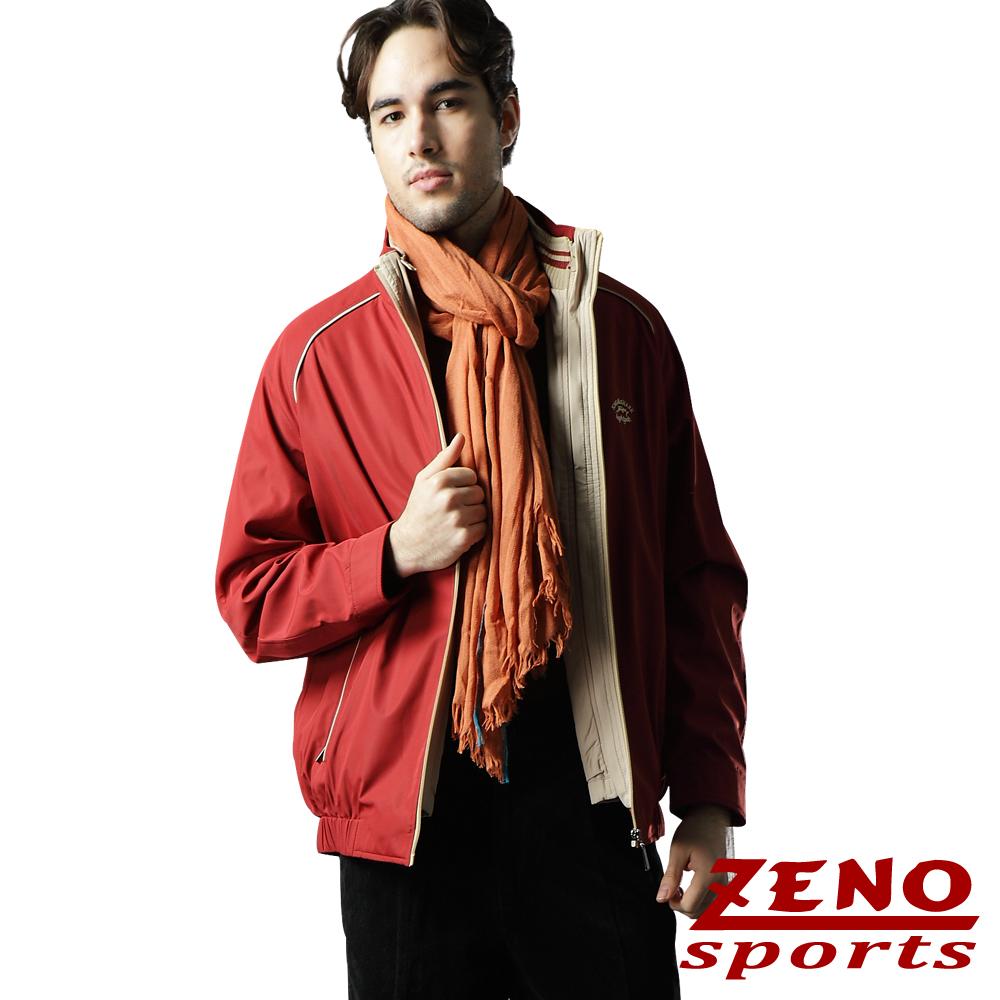 ZENO 歐風經典兩件式精品外套‧紅色
