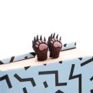 禮物myBookmark手工書籤-森林熊爪書籤