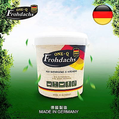 德國 Frohdachs 馬桶/水管/水槽泡沫清潔霸
